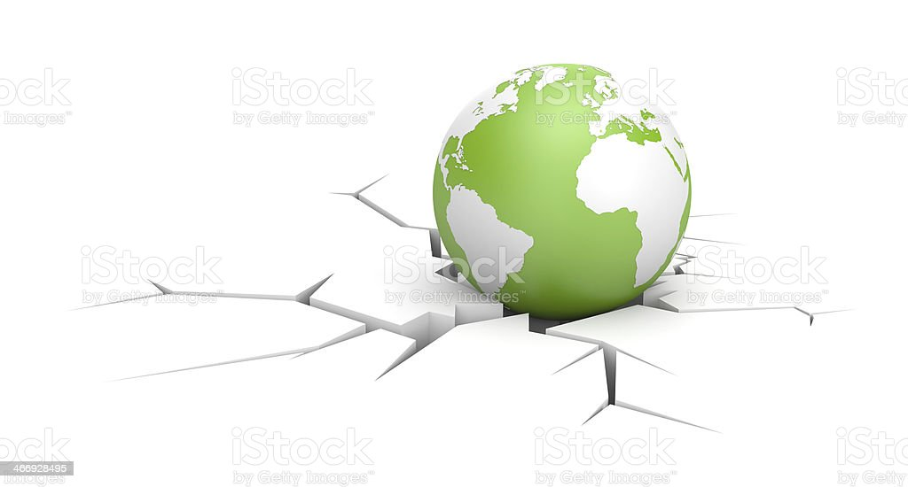 Against the world royalty-free stock photo