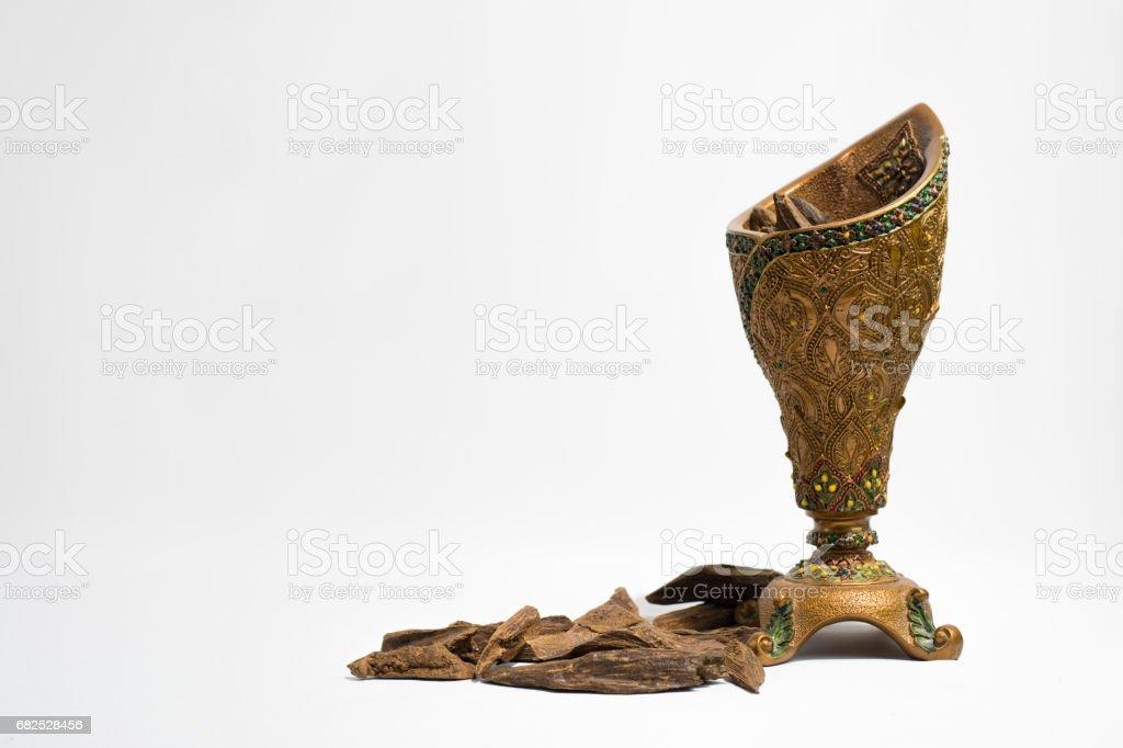 Gélose de bois, copeaux d'encens - Photo