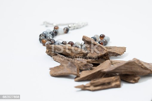 It's name in Arabic Oud Wood used to incense Cloths, furniture and places for occasions