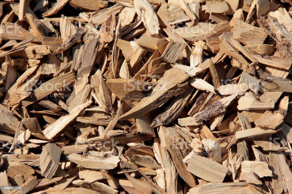 Agarwood chips stock photo