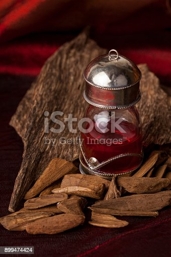 istock Agarwood incense chips 899474424