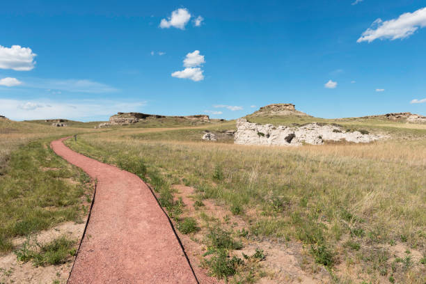 Agate Fossil Beds National Monument stock photo