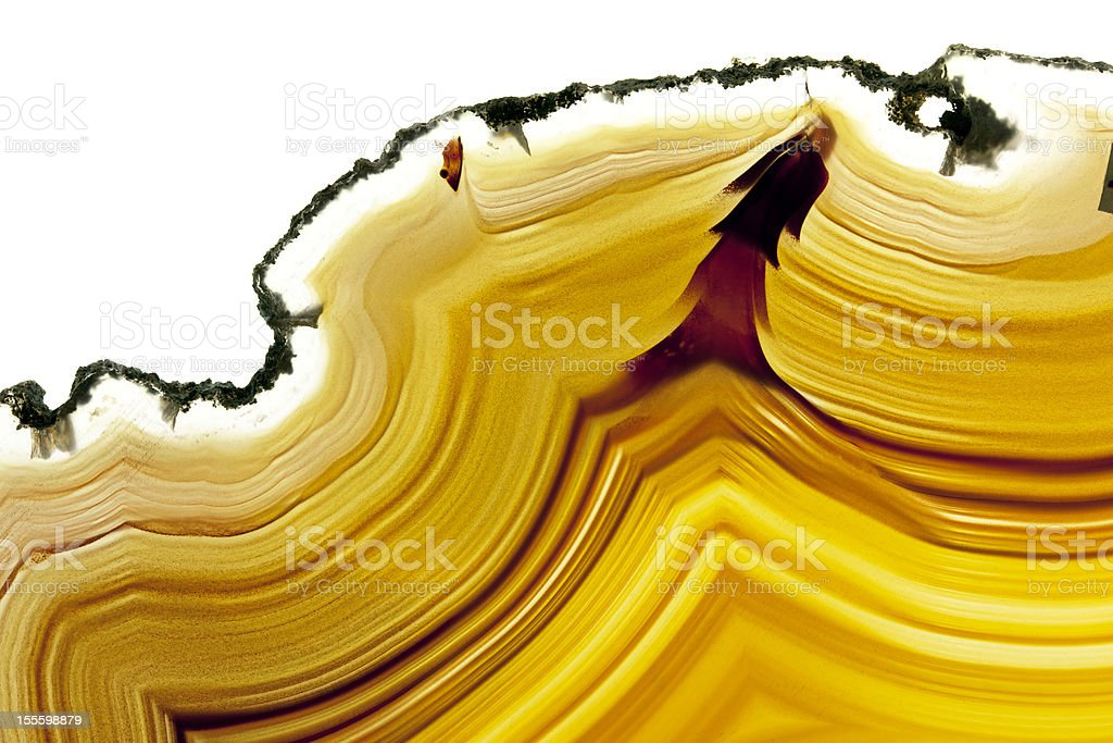 Agate Gemstone stock photo
