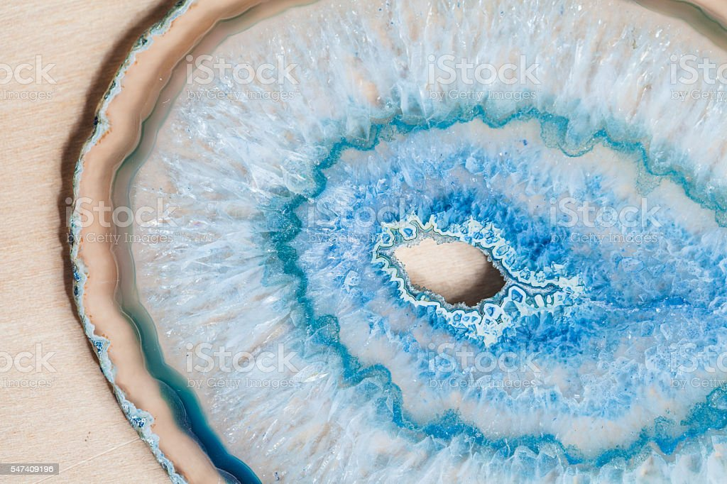 Agate Slice stock photo