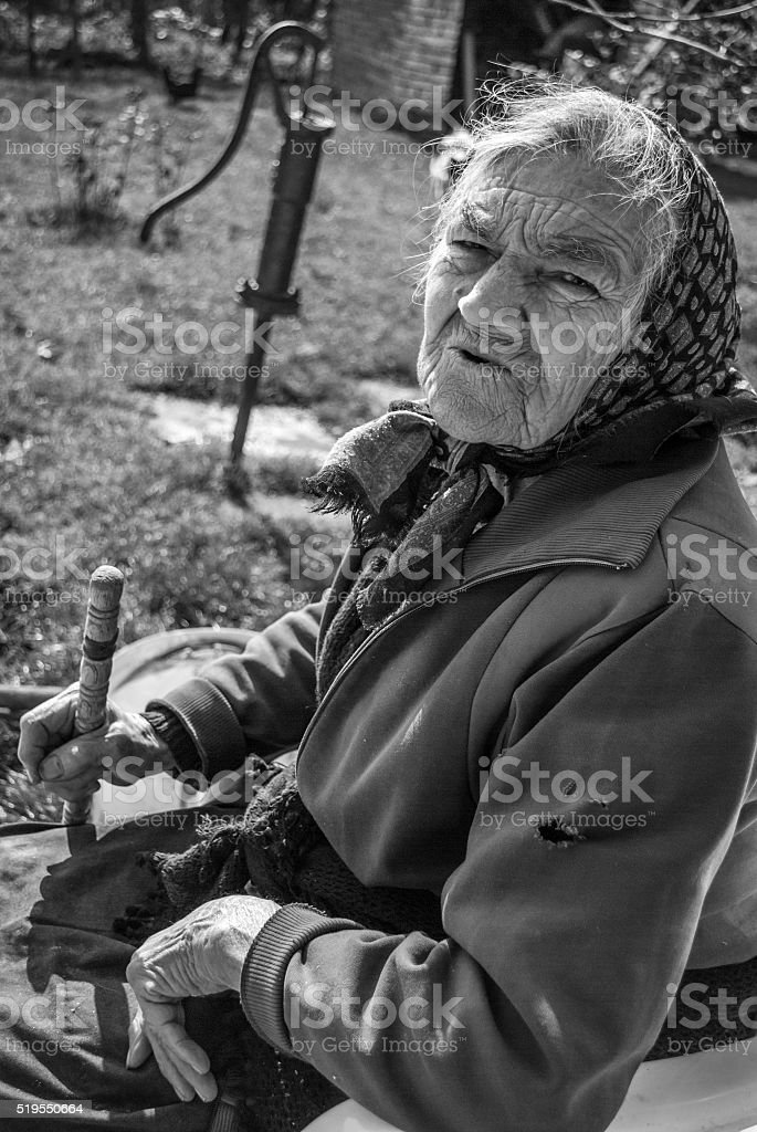 Age and years stock photo
