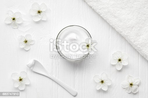 1151624350istockphoto Age control cosmetic cream face, body, skincare cleanser product anti aging treatment 683747910