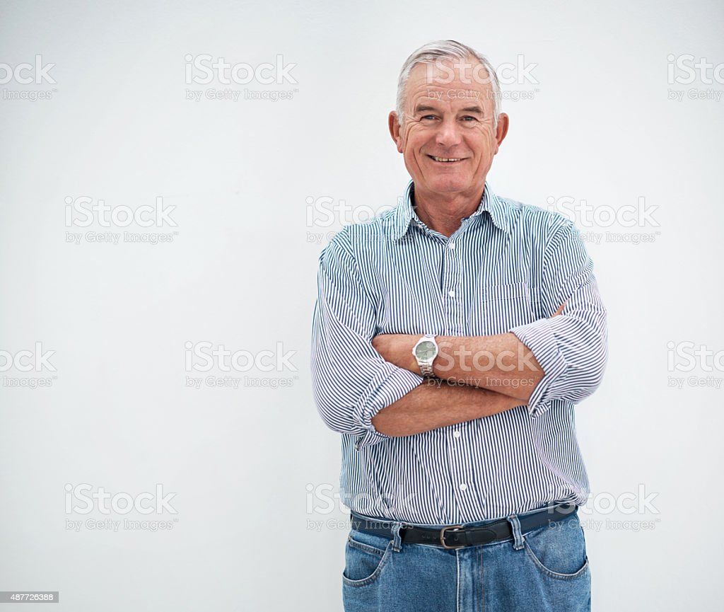 Age is just a number after all stock photo