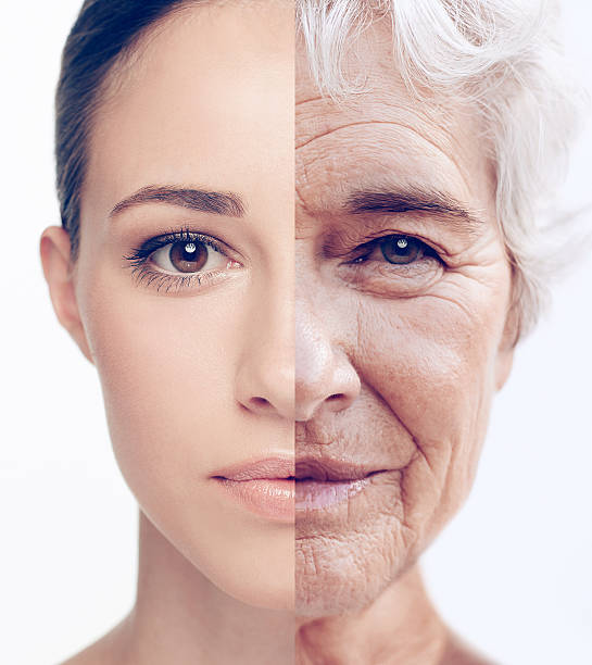 Age is mind over matter stock photo