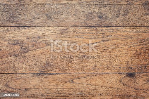 istock Aged and dirty Wood Background and Texture , Vintage toned. 950802094