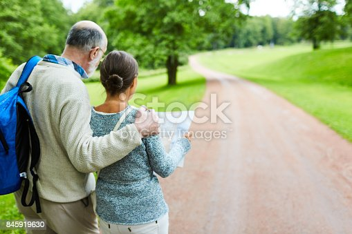 istock Aged backpackers 845919630