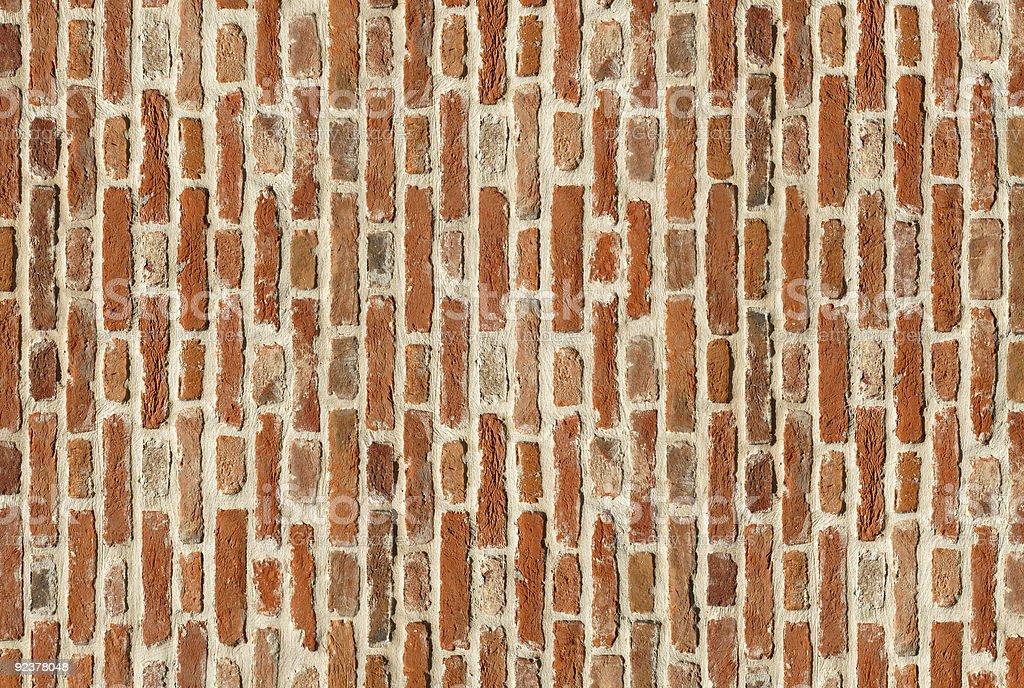 Aged bricks royalty-free stock photo