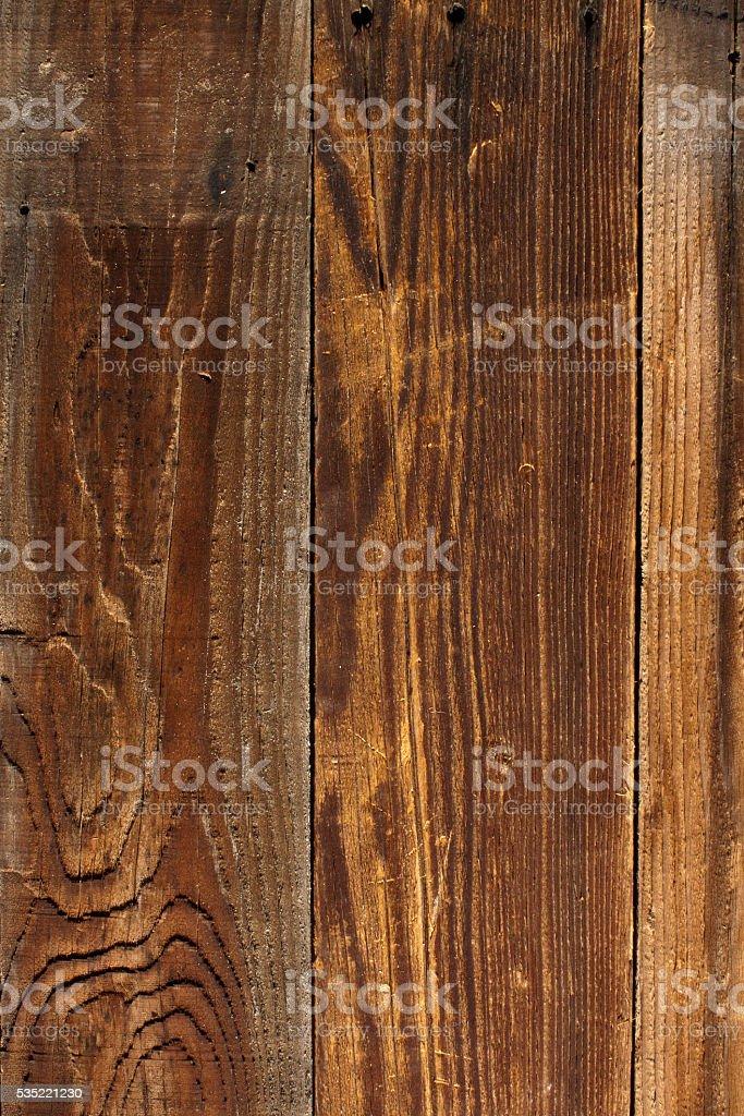 Aged distressed barn wood stock photo