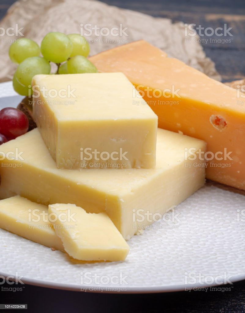 is cheddar a hard cheese