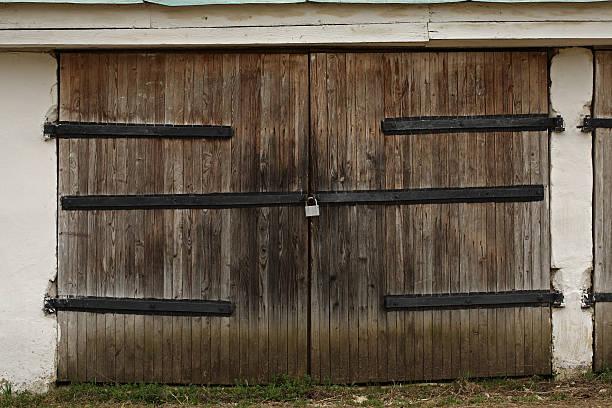 aged old gates stock photo