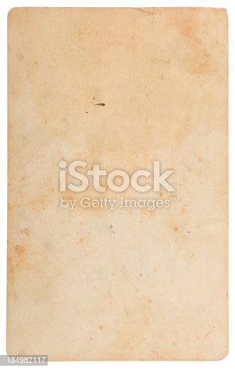 882302538 istock photo Aged, Old Paper, Card 134982117