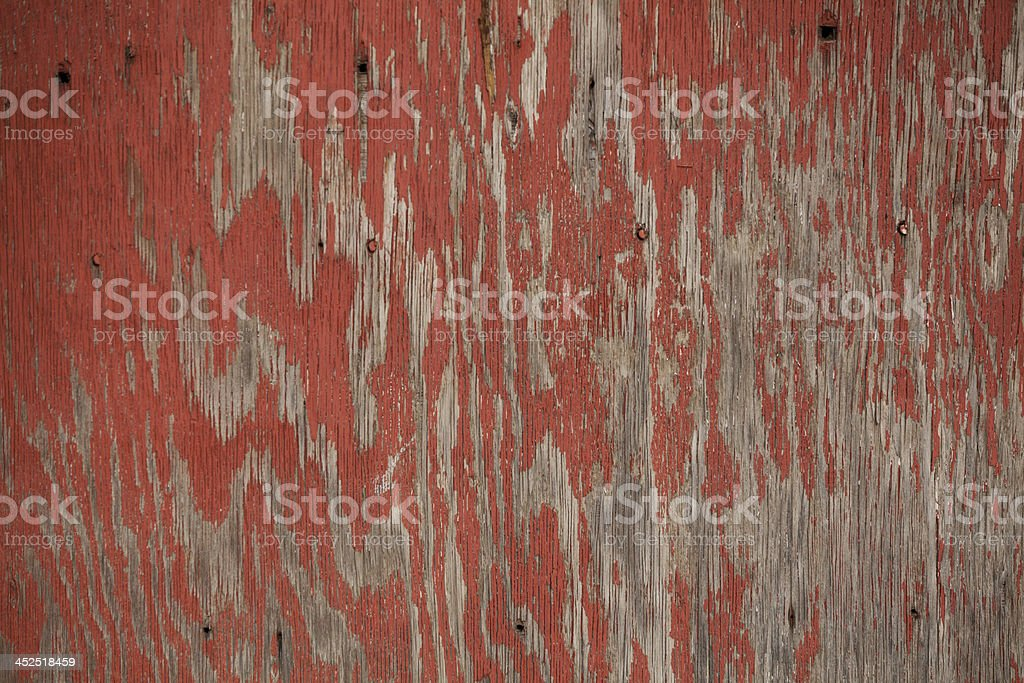 aged painted wood for textures and backgrounds stock photo