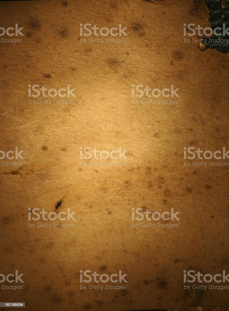 Aged Paper Background royalty-free stock photo