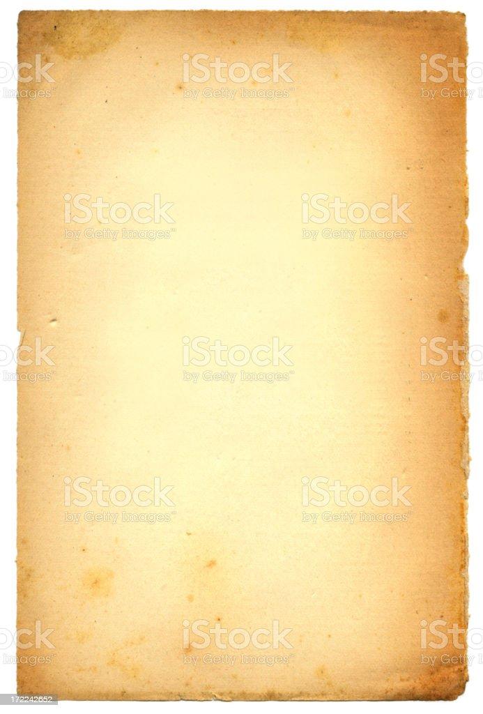 Livro de idade - foto de acervo