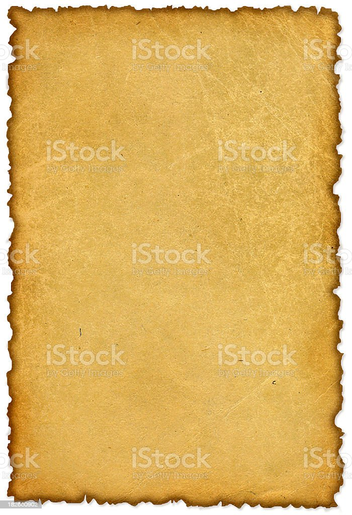 aged paper royalty-free stock photo