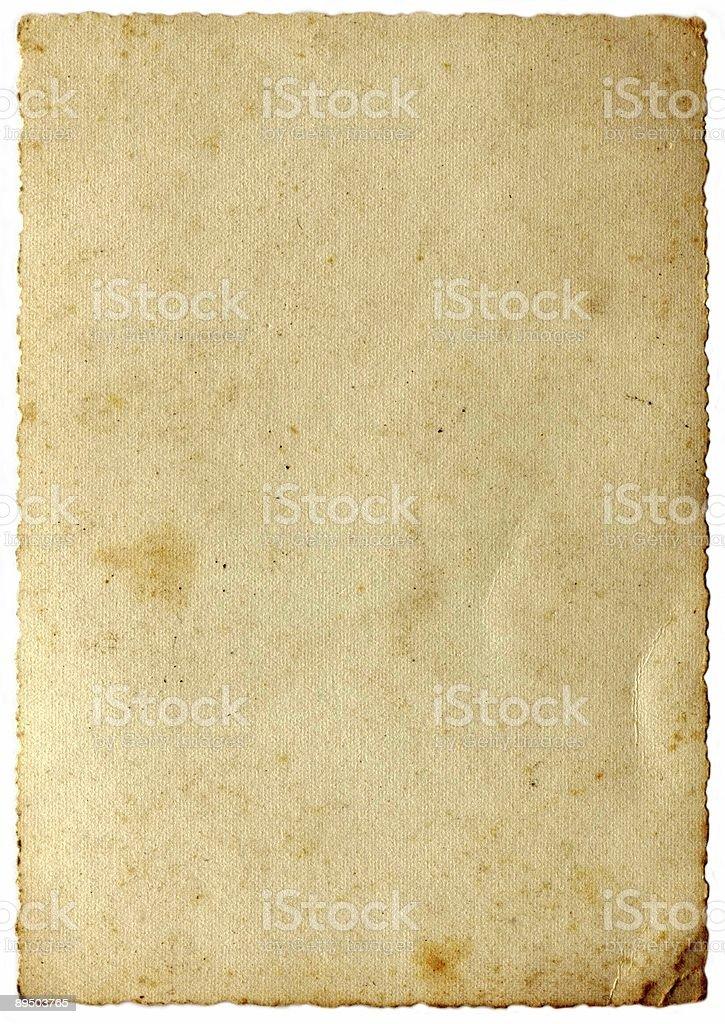 Carta invecchiato foto stock royalty-free