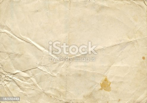 Sheet of white pape.