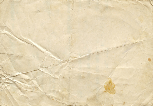Sheet of white pape.