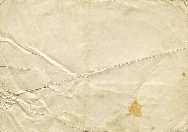 노인 종이 애니메이션 - 구겨진 뉴스 사진 이미지