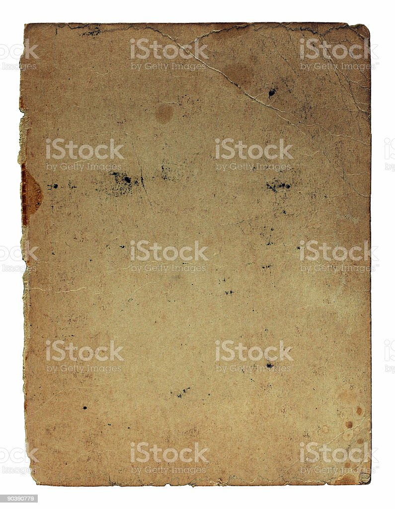 aged paper-series royalty-free stock photo