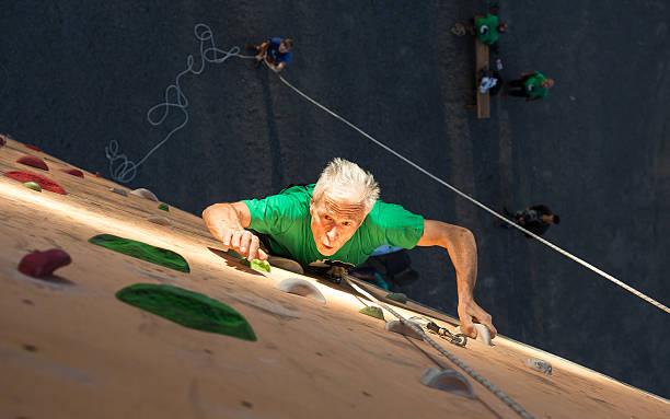 Zwischen Person üben Extrem-Sport – Foto