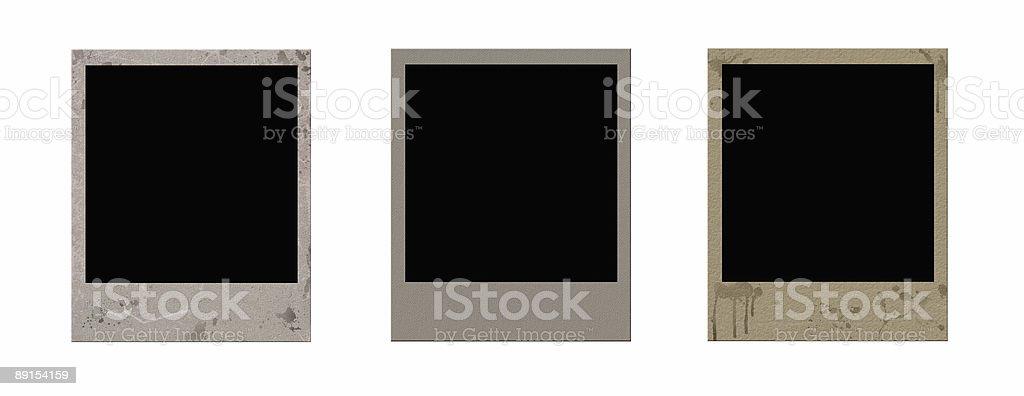 aged photo frames royalty-free stock photo