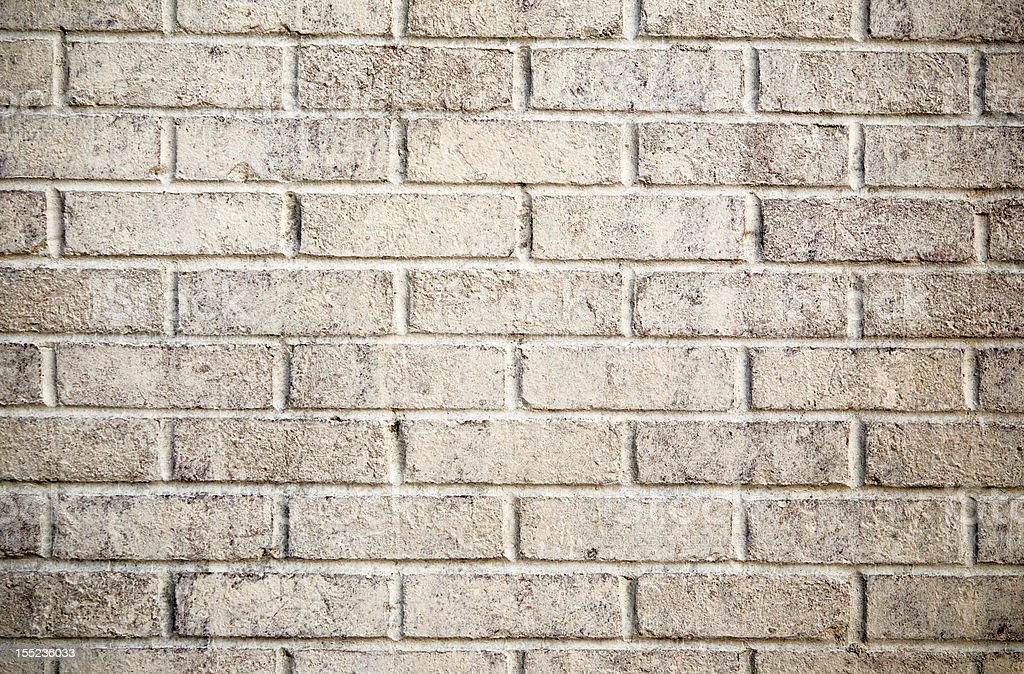 Aged Rustic White Brick Wall Pattern Background Royalty Free Stock Photo