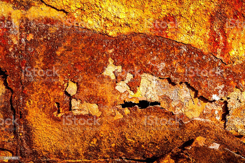 Aged rusty metal texture royalty-free stock photo