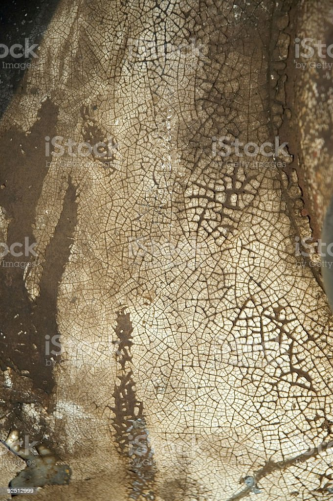 Aged Texture - Cracking Paint 3 royalty-free stock photo