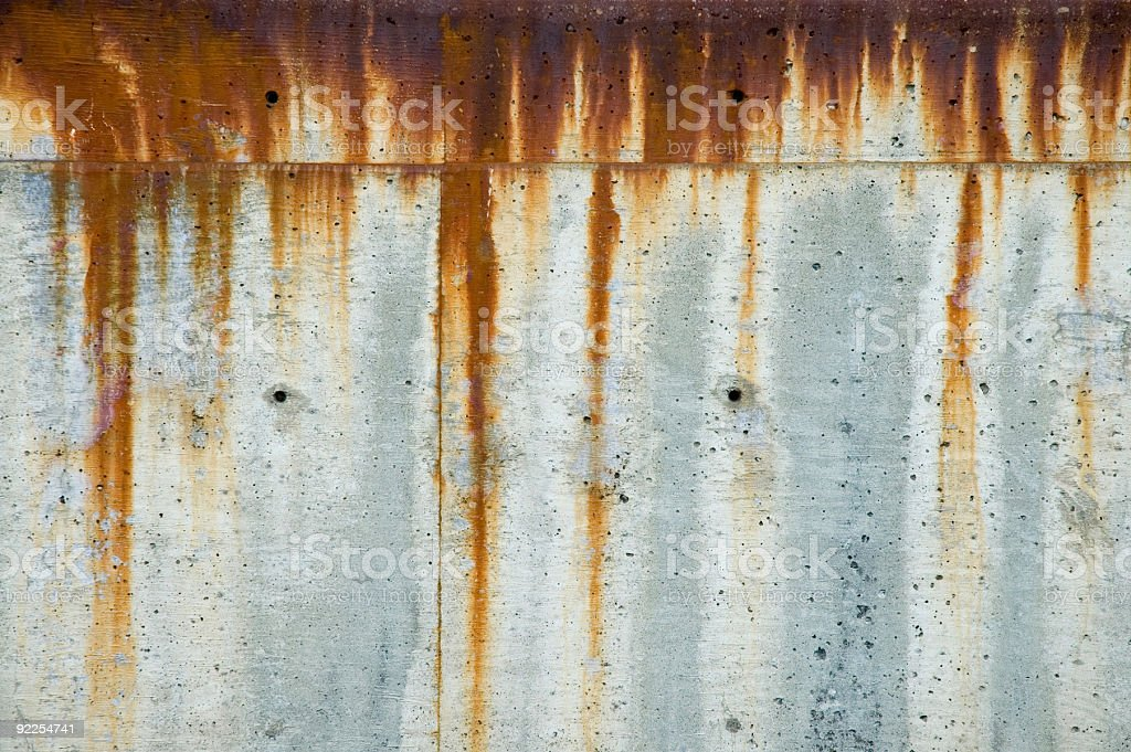 Aged Texture - Rusty Concrete 1 royalty-free stock photo