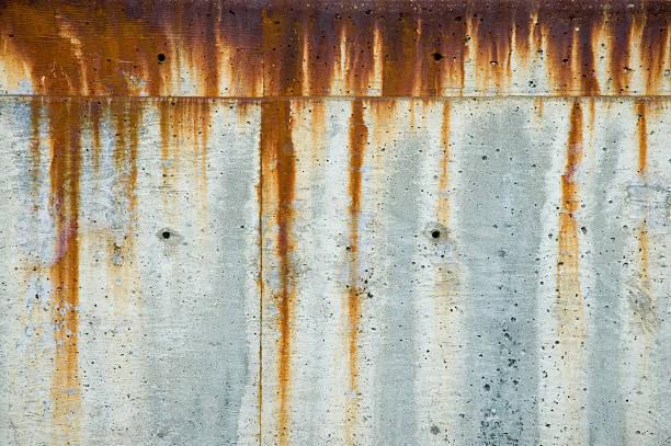 aged texture - rusty concrete 1 - roestig stockfoto's en -beelden