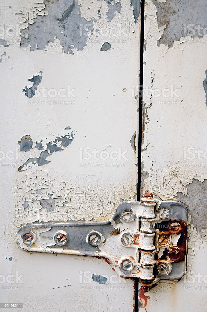 Aged Texture - White Paint 3 royalty-free stock photo