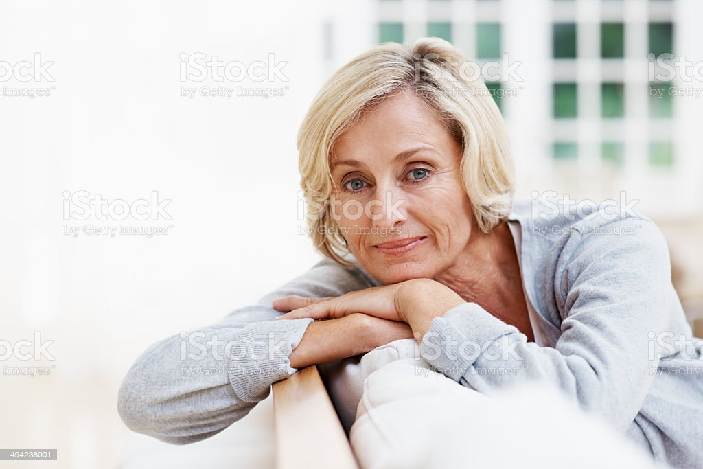 Aged to perfection stock photo