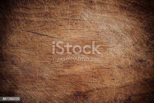 istock Aged wooden texture 837260220