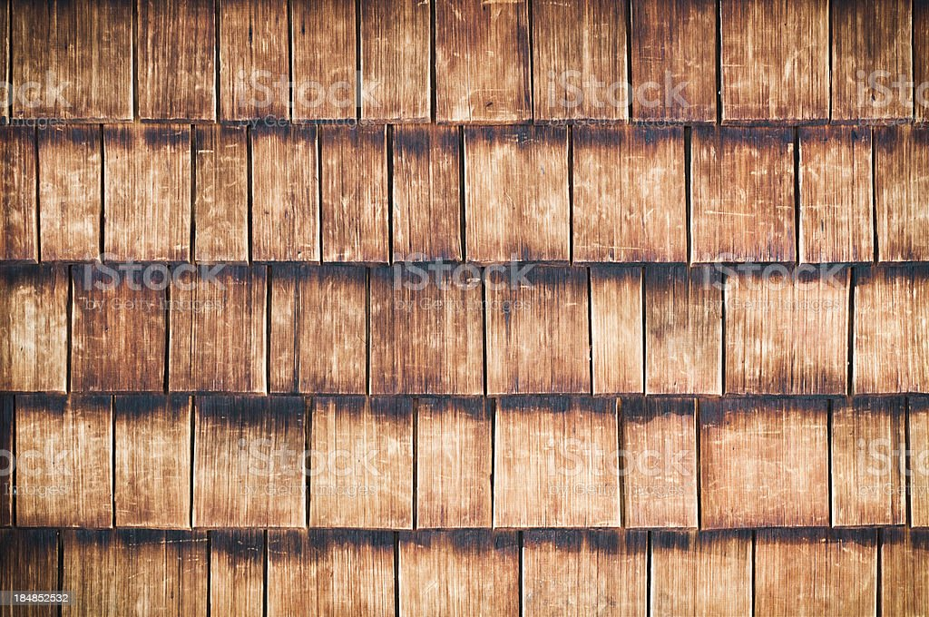 Aged Wooden Tile Texture royalty-free stock photo