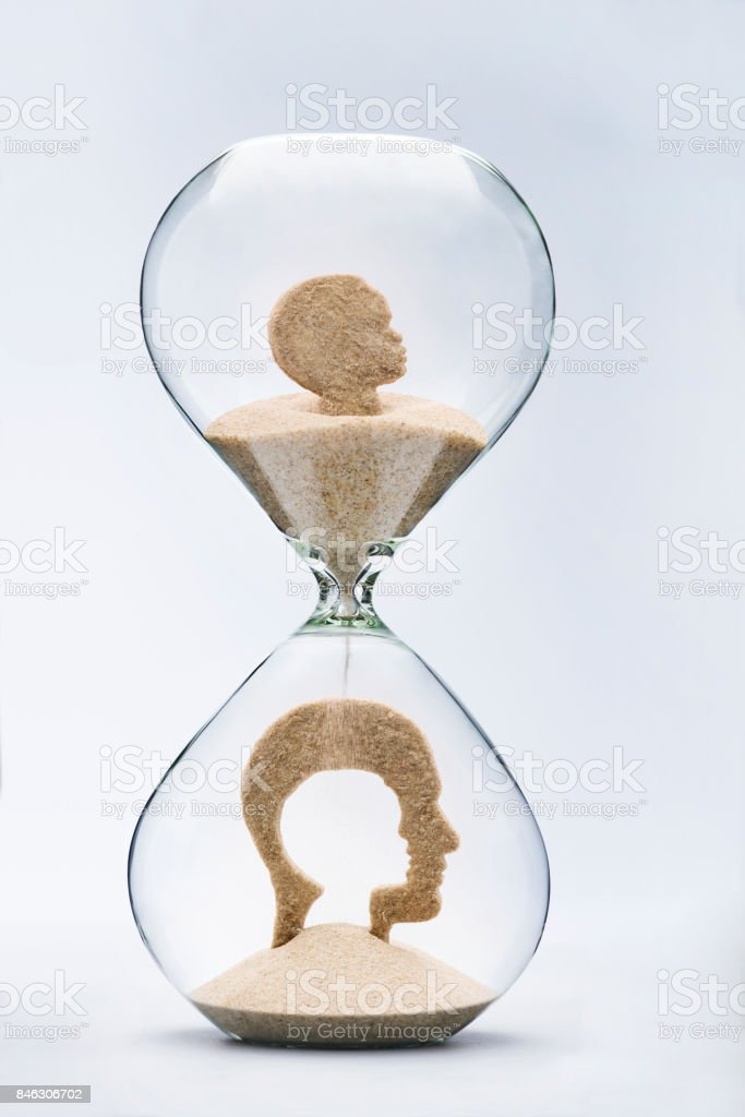 Ageing concept stock photo