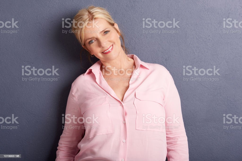 Ageless beauty portrait stock photo