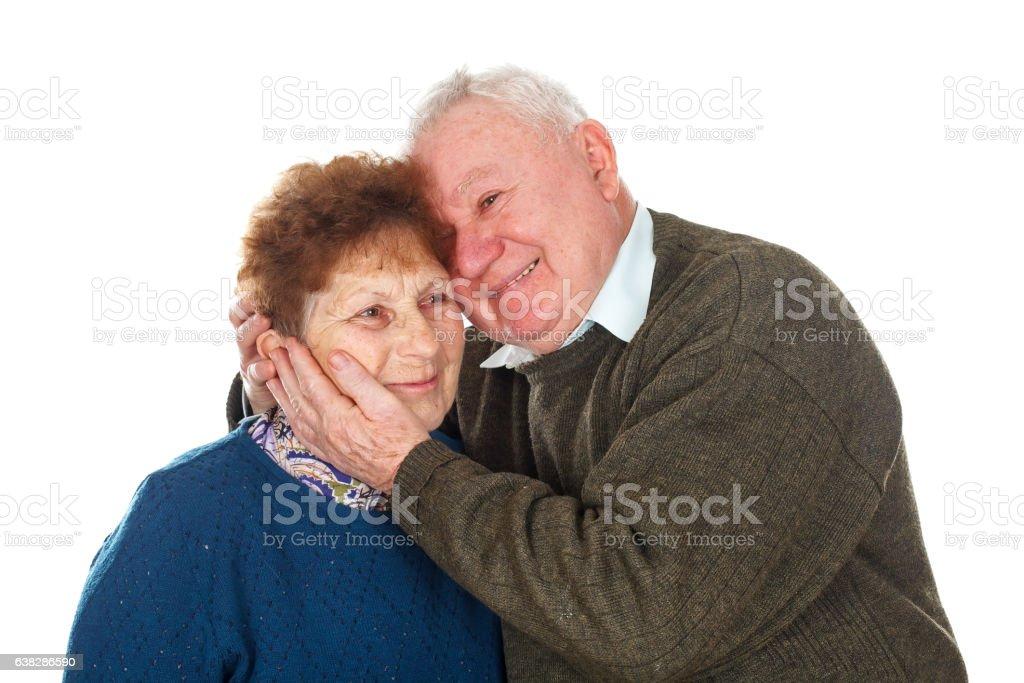 Ageless love stock photo