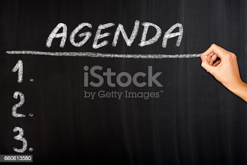 istock Agenda Concept 660613580