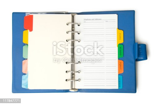 istock Agenda 117847771