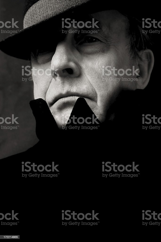 Agent Number 5 royalty-free stock photo