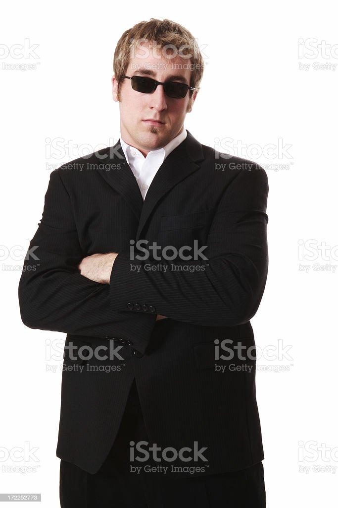 Agent Smith royalty-free stock photo