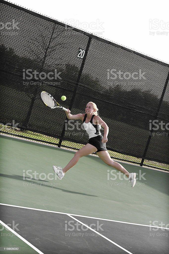 aggressive athlete royalty-free stock photo