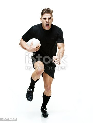 istock Aggressive rugby player 480276758