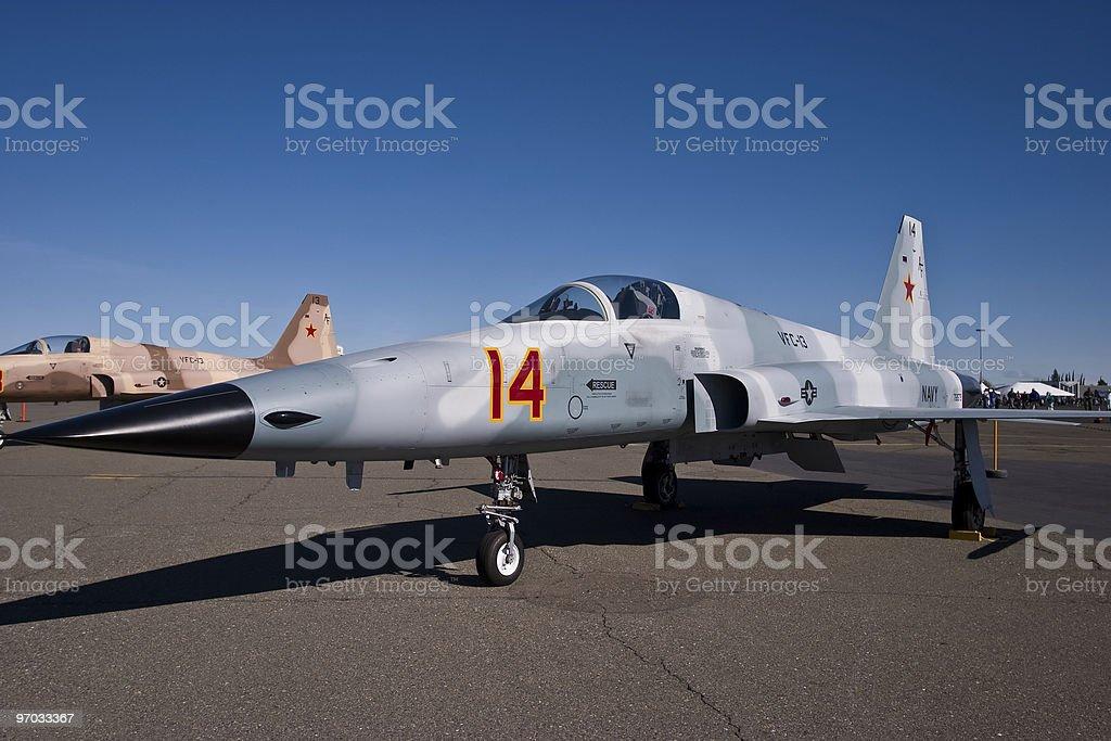 F-5 Aggressor royalty-free stock photo