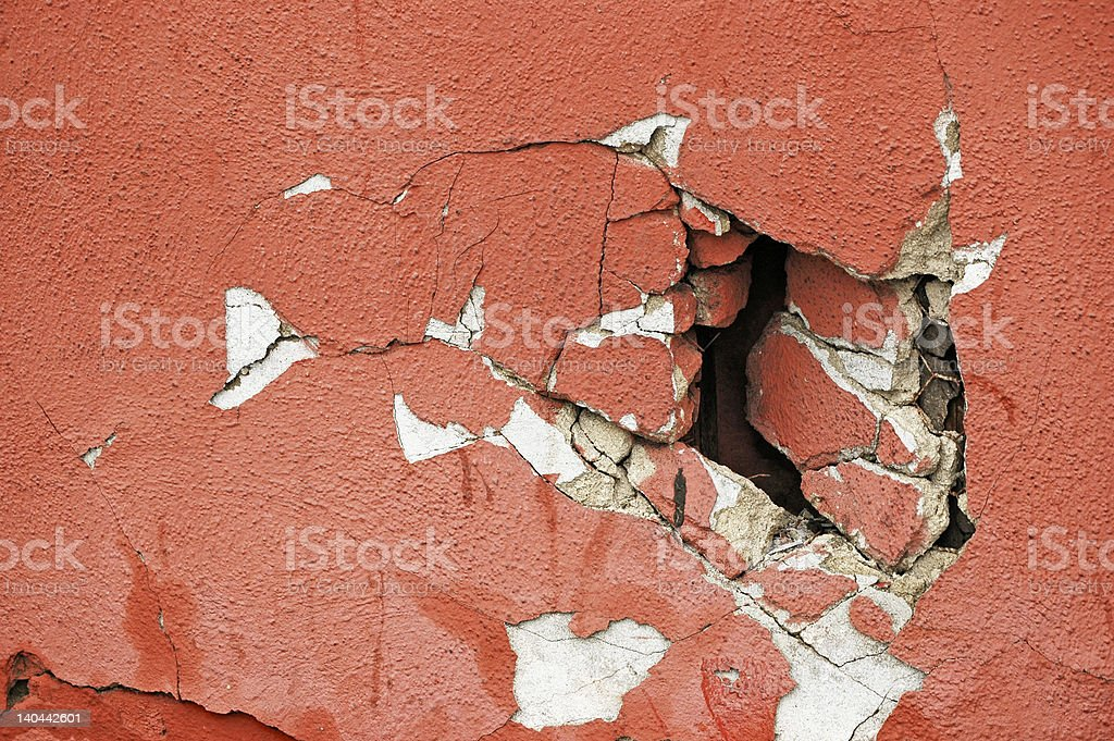 Agh, not the wall stock photo